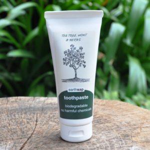 Tea Tree, Mint & Herbs Toothpaste (Earth Sap)