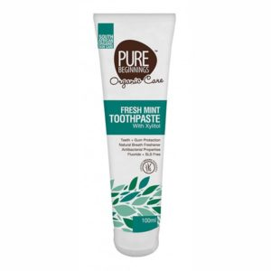 Fresh Mint Toothpaste with Xylitol (Pure Beginnings)