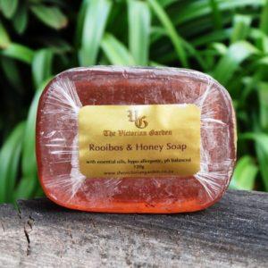 Red Rooibos & Honey Bar Soap (The Victorian Garden)