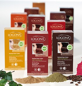 100% Herbal Hair Colours, powder (Logona)