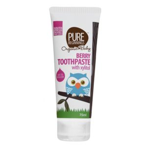 Berry Toothpaste for Children (Pure Beginnings)