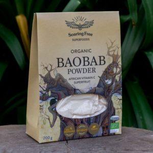 Organic Baobab Powder (Soaring Free Superfoods)