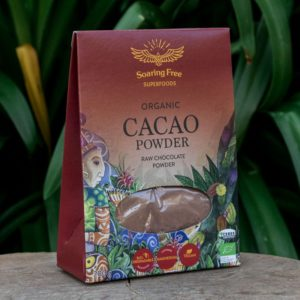 Raw Organic Cacao Powder (Soaring Free Superfoods)