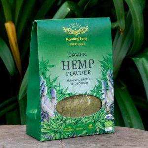 Organic Hemp Seed Protein Powder (Soaring Free Superfoods)