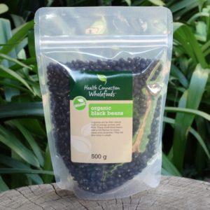 Organic Black Beans (Health Connection)