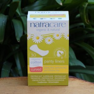 Organic Cotton Panty Liners, Curved (30) (Natracare)