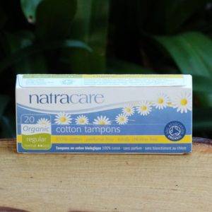 Organic Cotton Tampons, Regular (20) (Natracare)