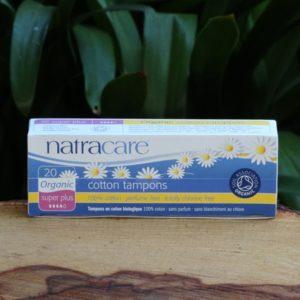 Organic Cotton Tampons, Super Plus (20) (Natracare)