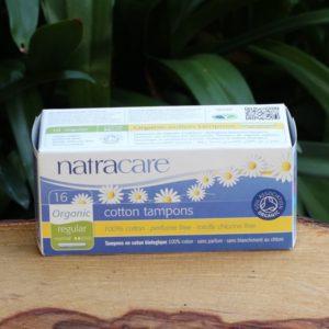 Organic Cotton Applicator Tampons, Regular (16) (Natracare)