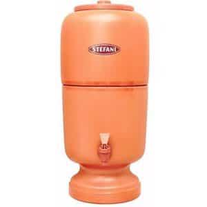Stéfani Ceramic Water Purifier, 4 litre (Stéfani Terracotta)