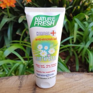 Herbal anti-microbial Toothpaste (Nature Fresh)