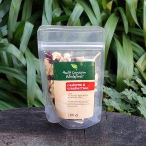 Cashews & Cranberries (Health Connection)