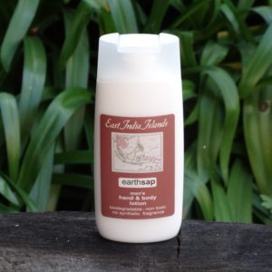 Men's Hand & Body Lotion, East India Islands (Earth Sap)