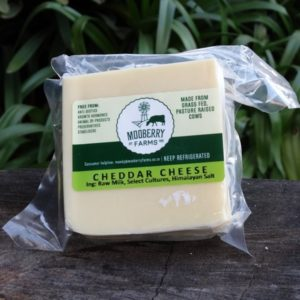 Cheddar Cheese, 250g (Mooberry Farms)