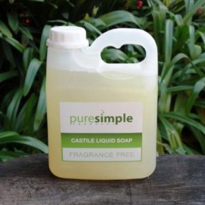 Castile Liquid Soap, Fragrance free (Pure Simple)