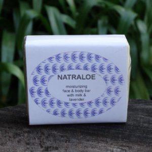 Aloe Soap with Milk & Lavender (Natraloe)