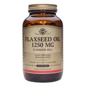 Flaxseed Oil Softgels (Solgar)