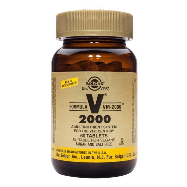 Formula VM-2000, 60 tablets (Solgar)