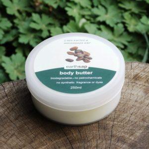 Body Butter, Wild Rose & Vanilla (Earth Sap)