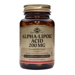 Alpha Lipoic Acid, 200mg (Solgar)
