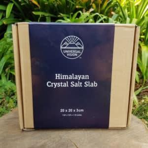 Himalayan Salt Slab - 20x20x3 (Universal Vision Trading)