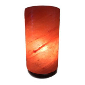 Himalayan Crystal Salt Lamp - Cylinder (Universal Vision Trading)