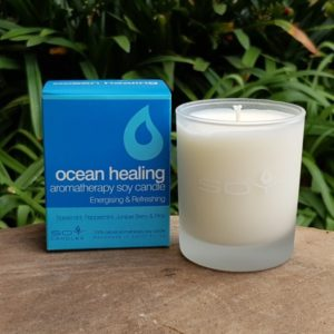 Soy Candle - Ocean Healing (In Time Promotions)