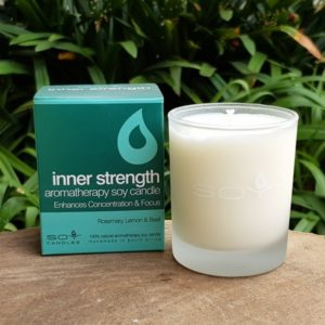 Soy Candle - Inner Strength (In Time Promotions)