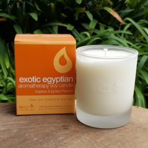 Soy Candle - Exotic Egyptian (In Time Promotions)