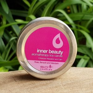 Soy Candle Travel Tin - Inner Beauty (In Time Promotions)