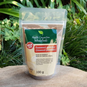 Flaxseed (Linseed) powder, 100g (Health Connection)