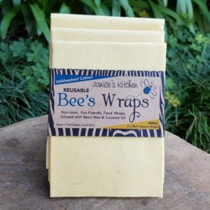 Bee's Wax Wraps, Unbleached Cotton (Janice's Kitchen)