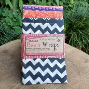 Bee's Wax Wraps, Cotton, Variety Pack (Janice's Kitchen)