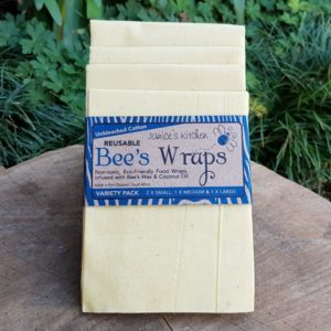 Bee's Wax Wrap, Unbleached Cotton, Variety Pack (Janice's Kitchen)