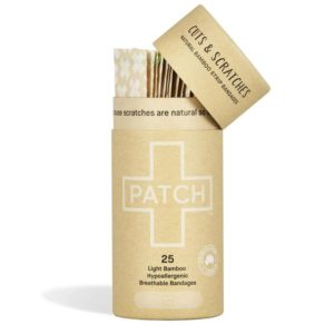 Organic Adhesive Strips, Natural (Patch)