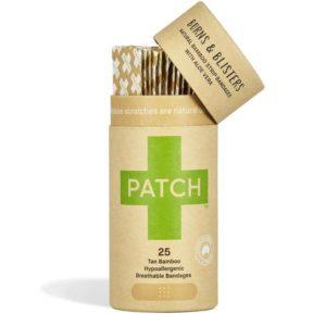 Organic Adhesive Strips, Aloe Vera (Patch)