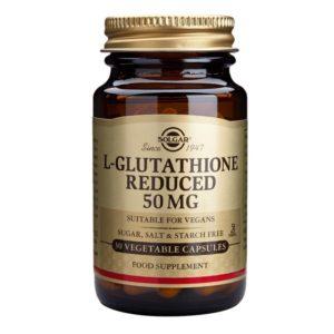 L-Glutathione, Reduced 50mg, 30 capsules (Solgar)