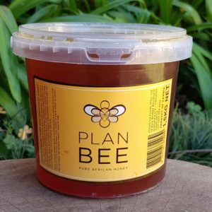 Pure Raw African Honey, 1.5kg (Plan Bee)