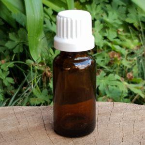 Amber Glass Bottle, 22ml (Escentia)