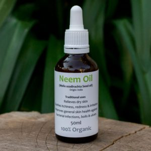 Organic Neem Oil, 50ml (Nautica Oils)