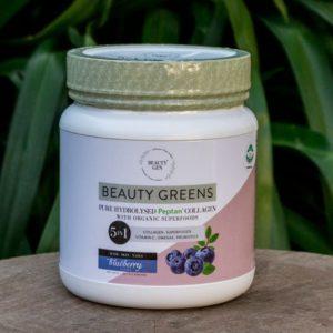 Beauty Greens Collagen, Blueberry, 1kg (Beauty Gen)