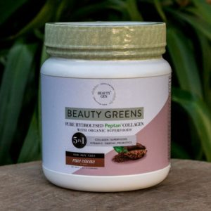 Beauty Greens Collagen, Raw Cacao, 1kg (Beauty Gen)