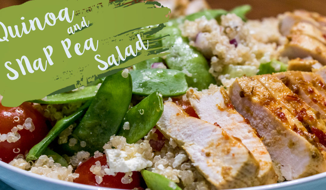 Quinoa and Snap Pea Salad